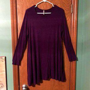 Women's Mittoshop Long Sleeve Piko Style Dress